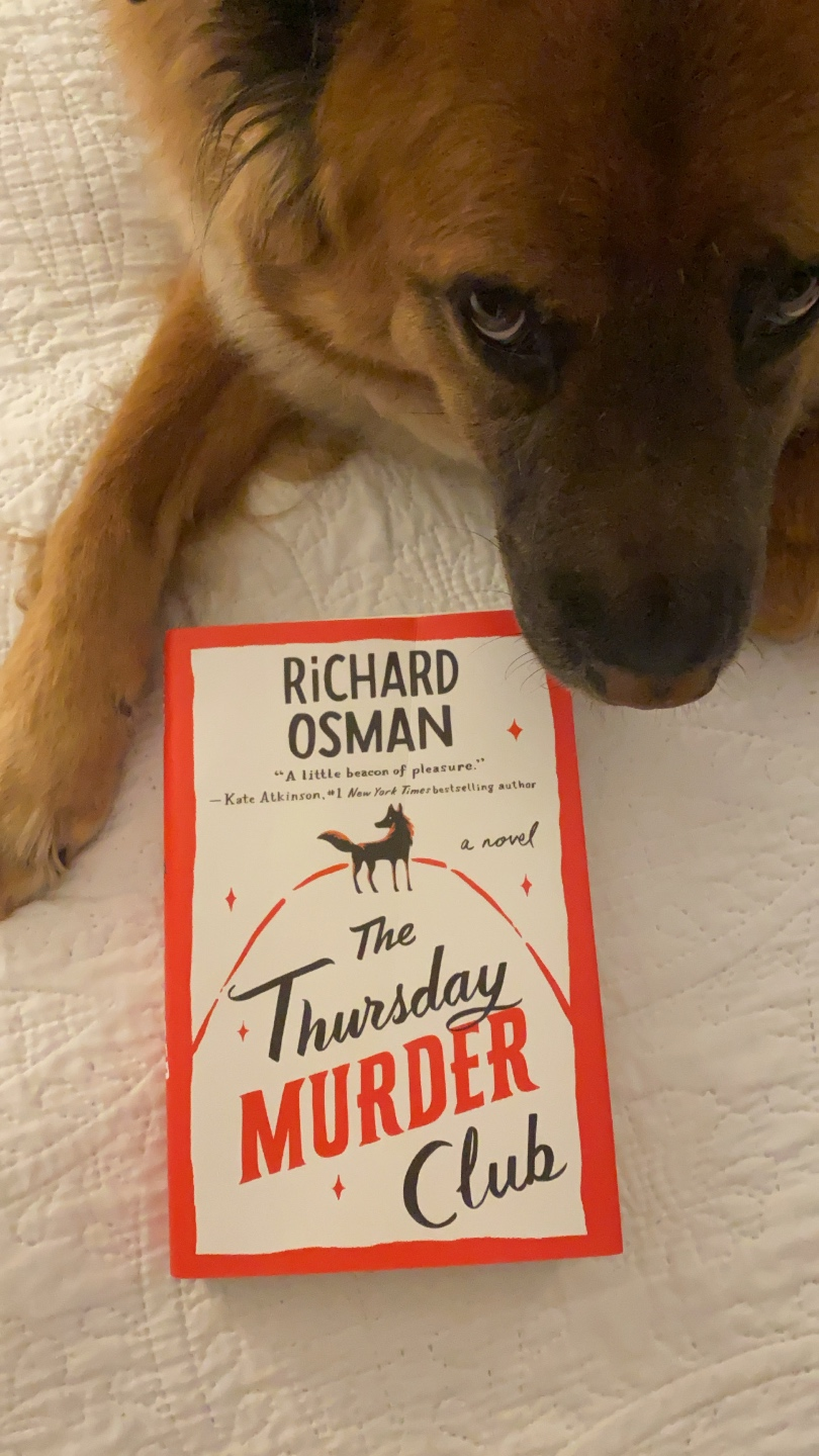 2021 Reading List: What I've Read So Far - I'm Fixin' To - @imfixintoblog | 2021 Reading List by popular NC lifestyle blog, I'm Fixin' To: image of The Thursday Murder Club.