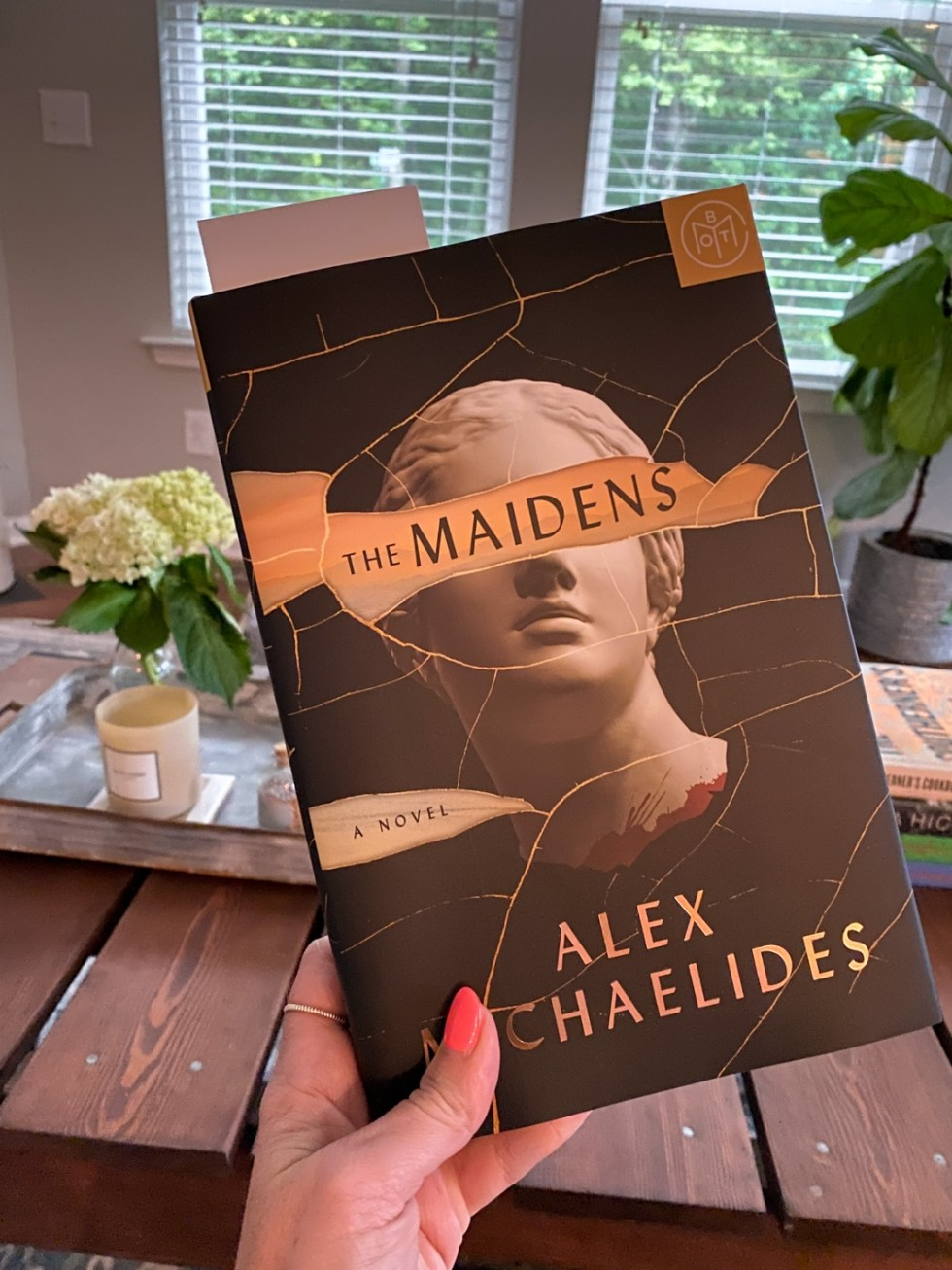 2021 Reading List: What I've Read So Far - I'm Fixin' To - @imfixintoblog | 2021 Reading List by popular NC lifestyle blog, I'm Fixin' To: image of The Maidens.