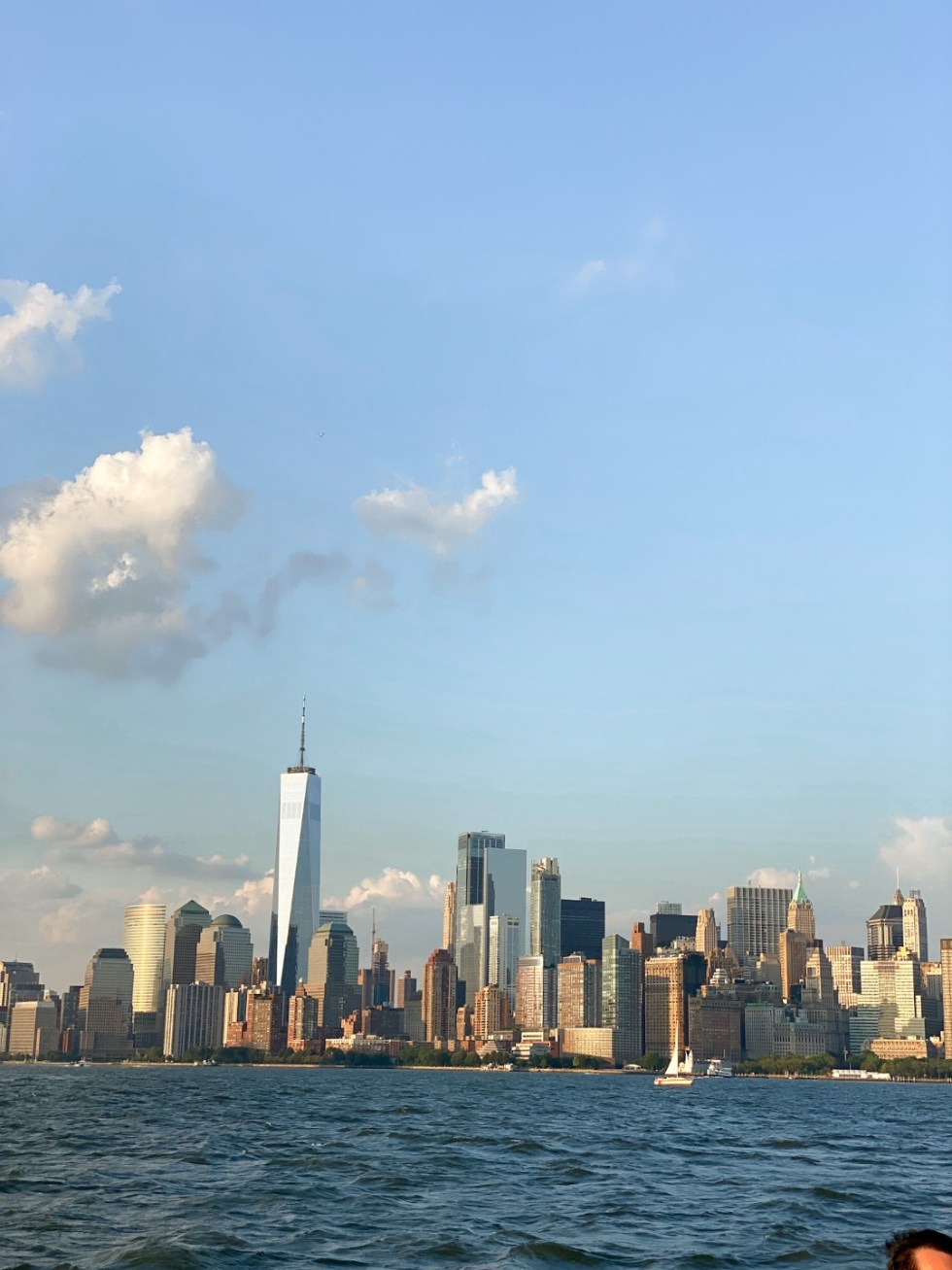 NYC Summer Weekend: Things to Do in NYC in the Summer - I'm Fixin' To - @imfixintoblog   NYC Summer Weekend by popular NC travel blog, I'm Fixin' To: image of the NYC skyline.