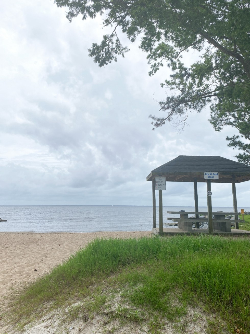 What to Do in Oriental, NC - I'm Fixin' To - @imfixintoblog | Things to do in Oriental NC by popular NC travel blog, I'm Fixin' To: image of John W. Bond beach.