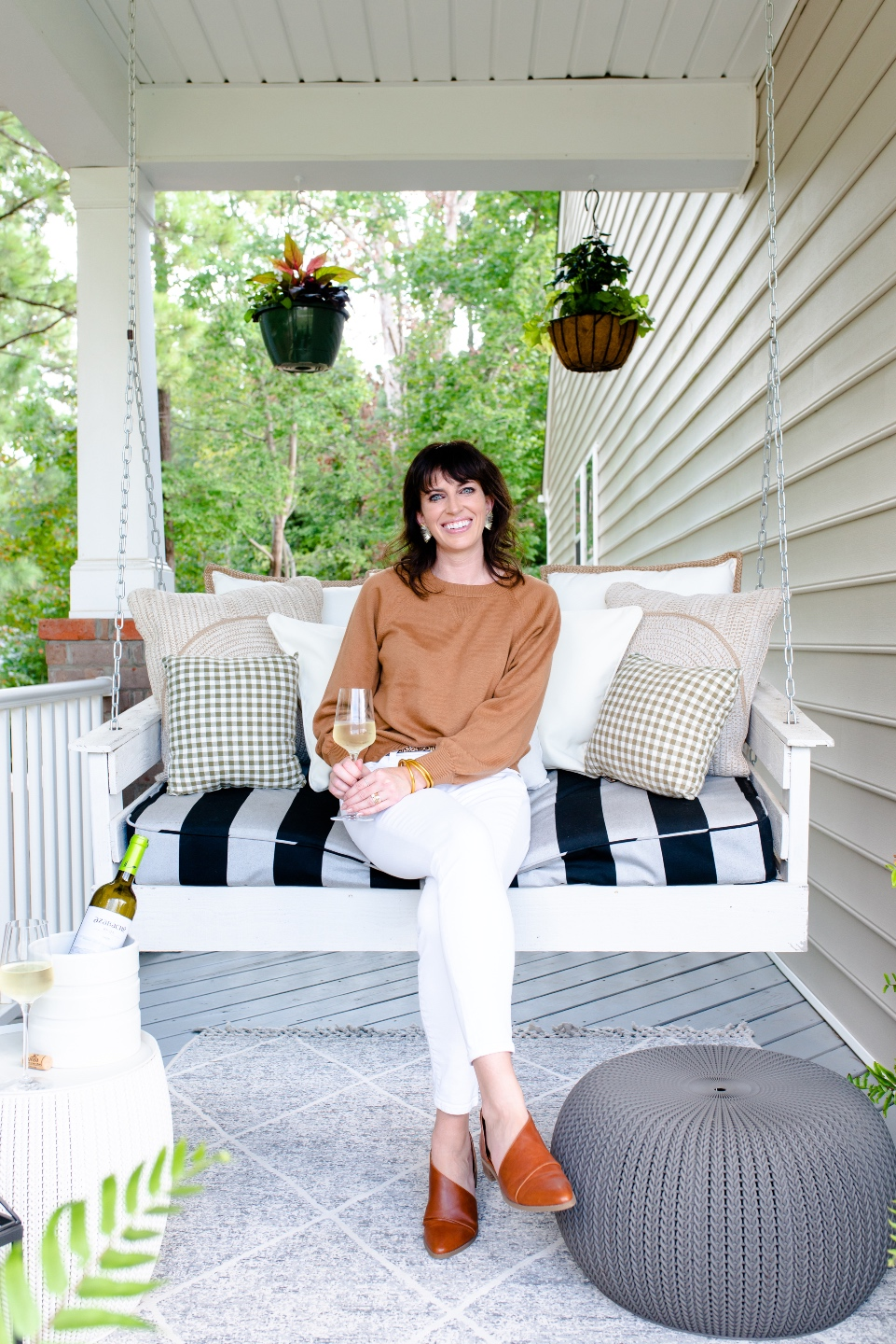 Fall Front Porch Decor with Fairview Garden Center featured by top Raleigh blogger, I'm Fixin' To