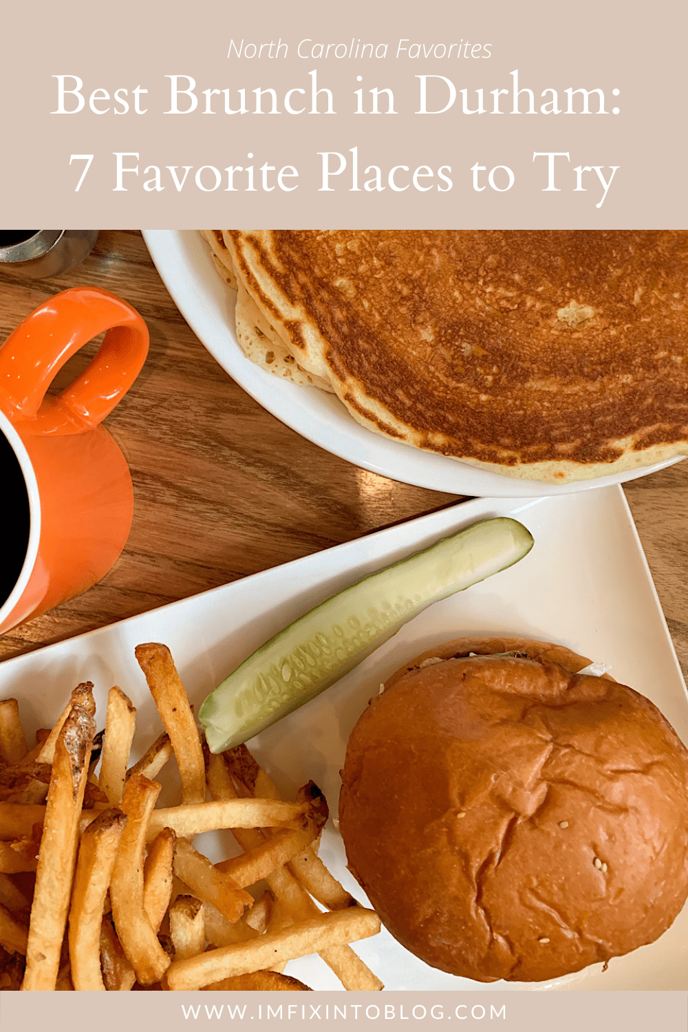 Best Brunch in Durham, NC featured by top Durham blogger, I'm Fixin' To