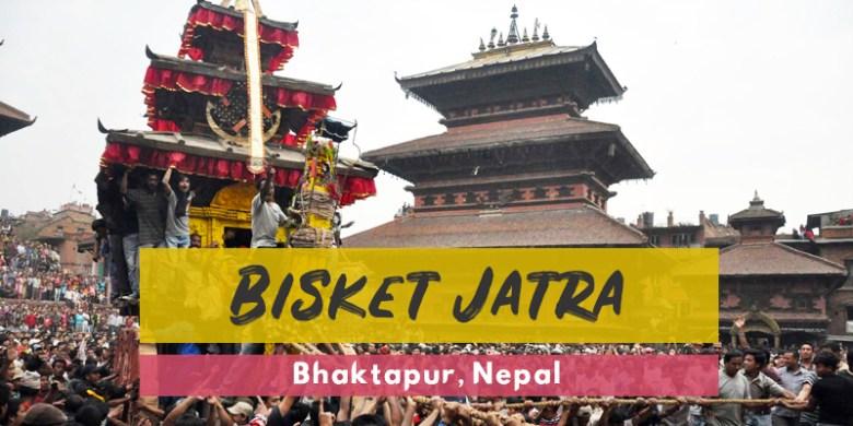 Bisket Jatra, Festivals of Bhaktapur Nepal