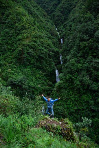 Jump Shot at Simba Falls, Manikhel, Lalitpur