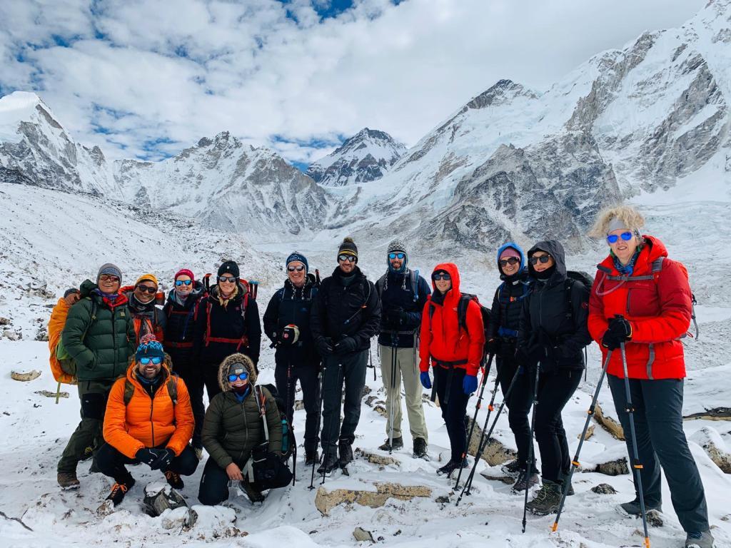 Everest Base Camp Trek 2019 group Photo Imfreee