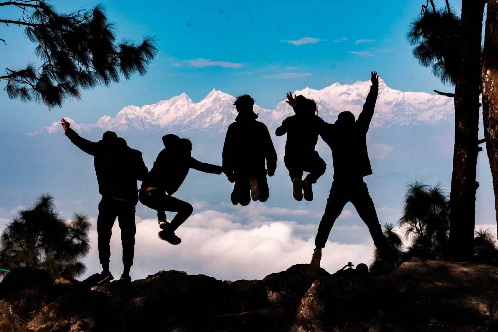 Jump Shot at Thanimai, Bandipur, Nepal