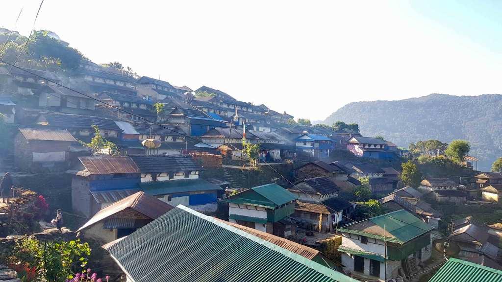 Bhujung Village - Largest Gurung Village, Lamjung Nepal