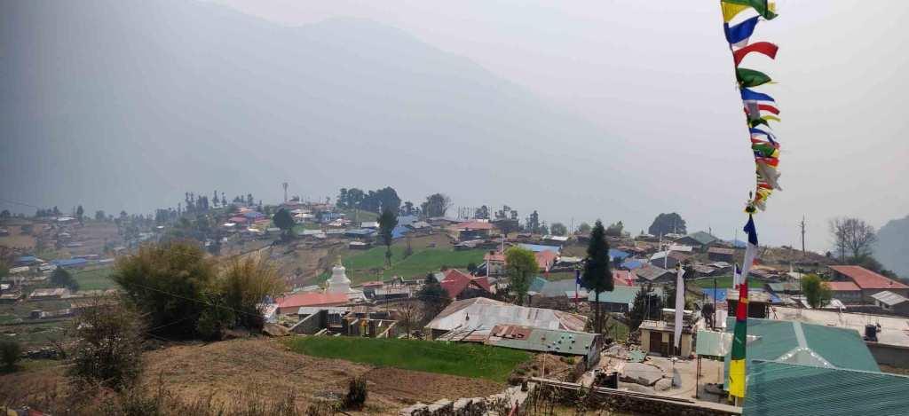 Helambu Melamchi Ghyang Village