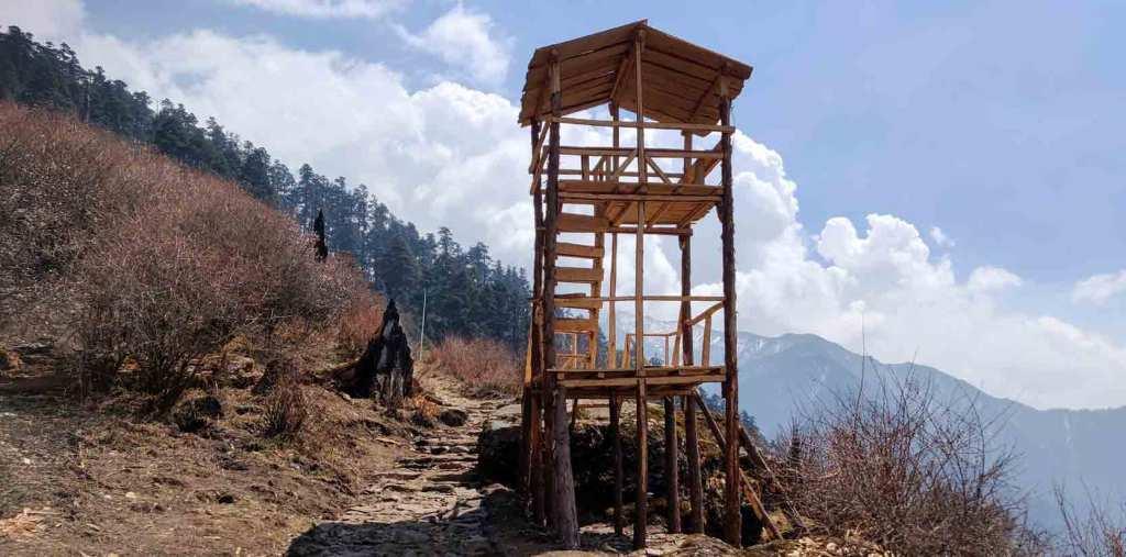The Wooden View Tower at Chandanbari