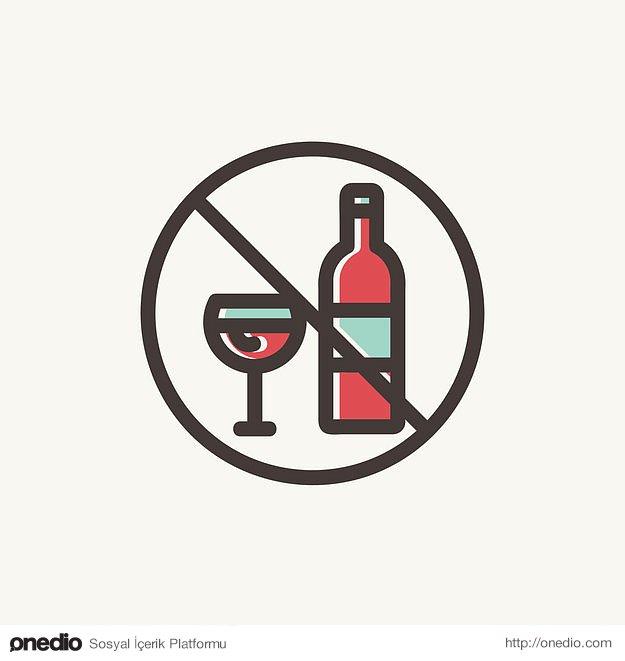 Hafta sonları mutlaka fazla kaçırıyorsanız hafta içi içkiden uzak durarak dengeyi sağlayın.