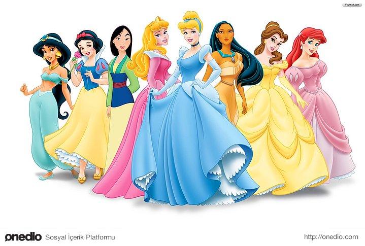 Tüm prensesler güzeldir!