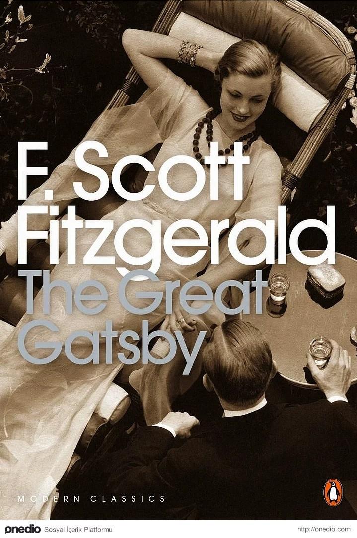1. Muhteşem Gatsby – F. Scott Fitzgerald