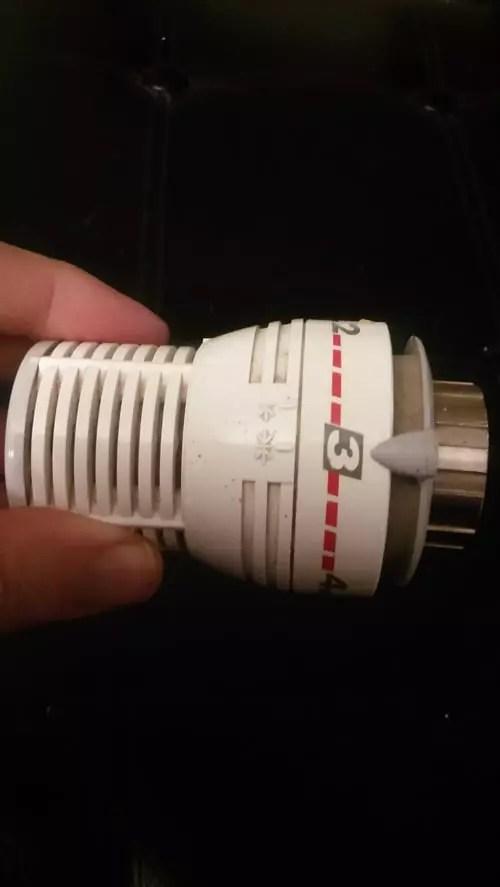 tete thermostatique comap s1 bloquee