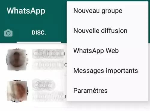 photos, vidéos, groupe de discussion, WhatsApp,