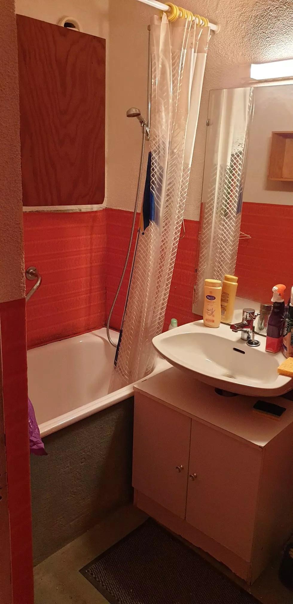 encastrer mitigeur de douche et robinet
