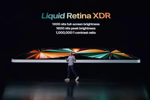 Le nouvel iPad Pro sera équipé d'un écran Liquid Retina XDR - Keynote Apple 2021 ©