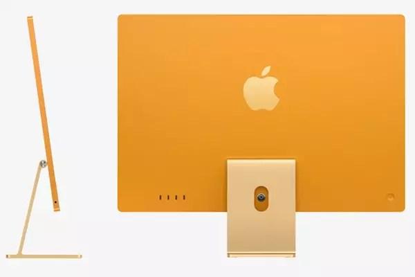 Apple annonce des nouveaux iMac équipés de la puce M1 - Keynote Apple 2021 ©