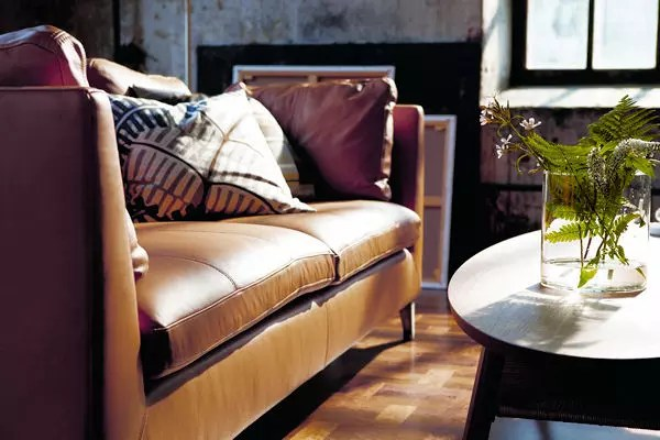 Canap 3 Places En Cuir Stockholm DIKEA