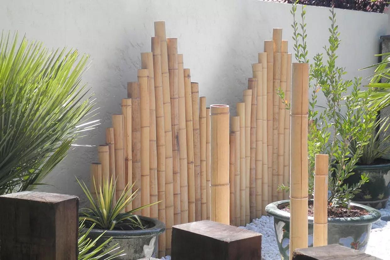 panneaux de bambou