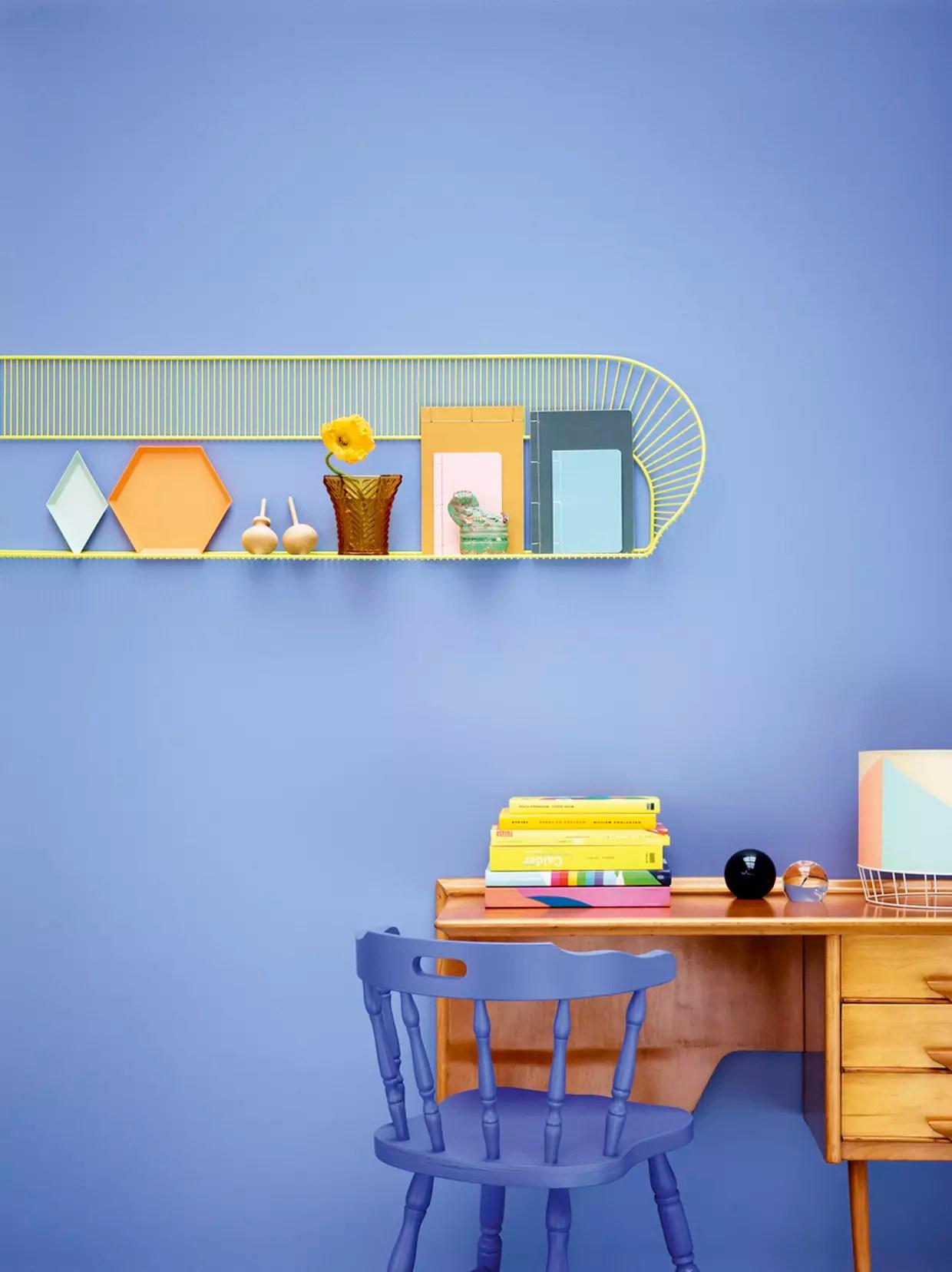 peinture bleu lavande par sigma coatings