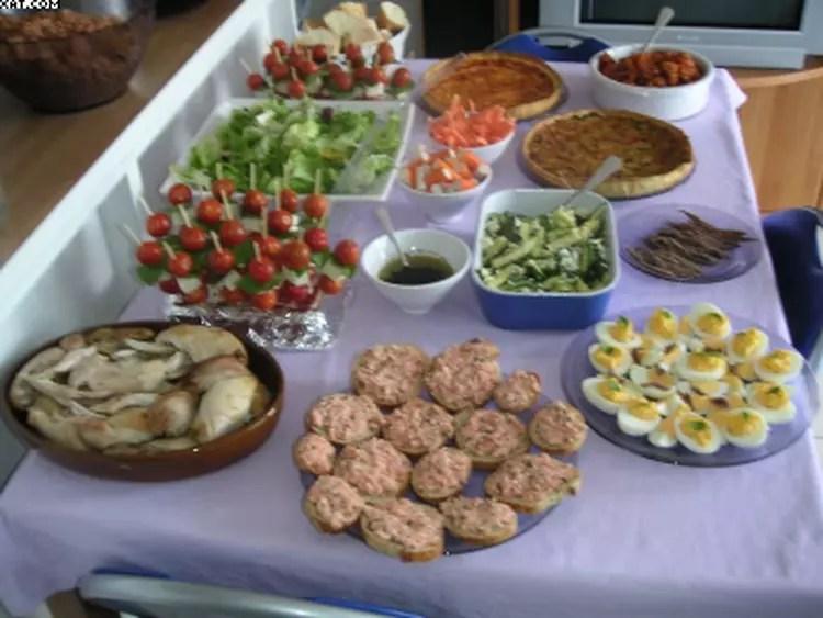 mon buffet d anniversaire