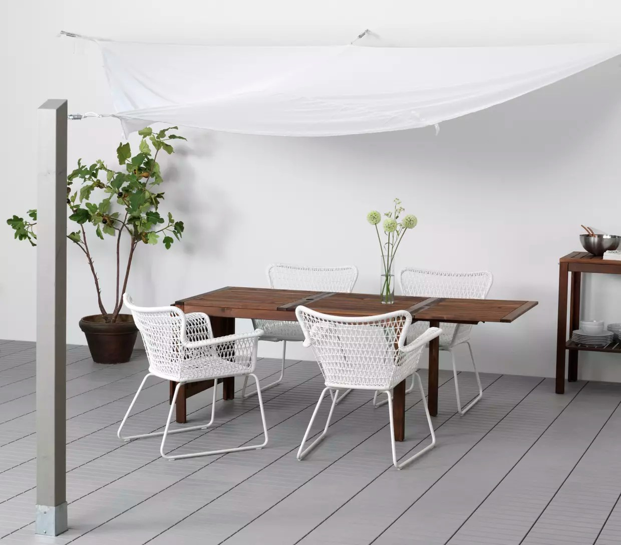 Voile D Ombrage Dyning Chez Ikea