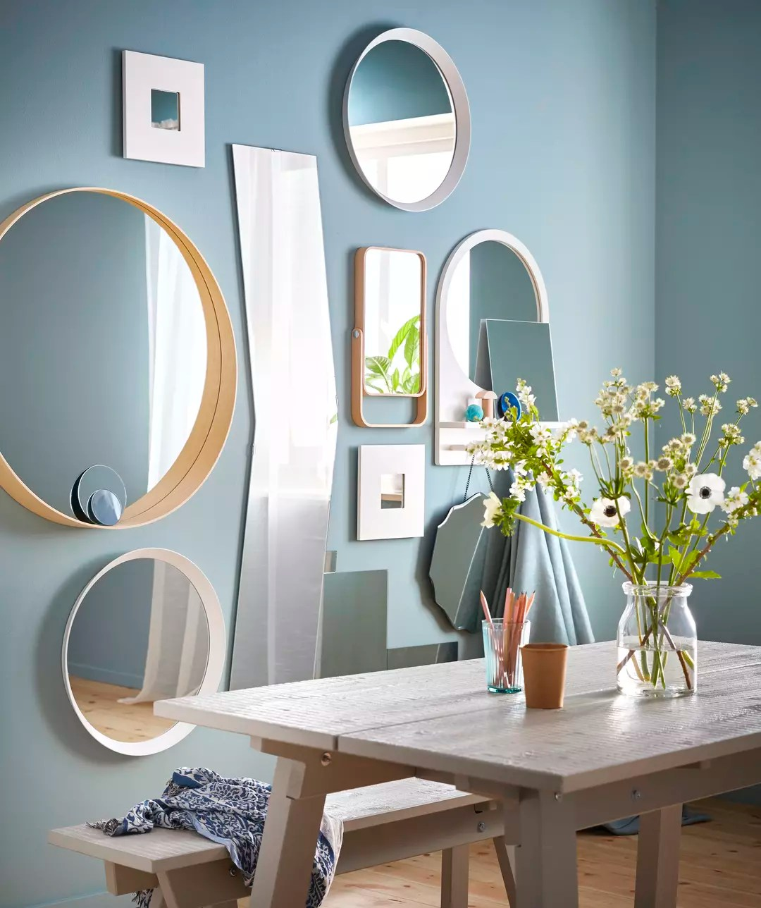 comment et ou placer un miroir dans une