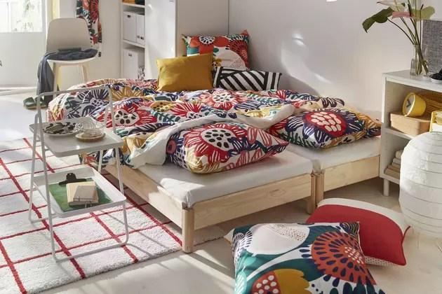 Linge De Lit Printanier Ikea