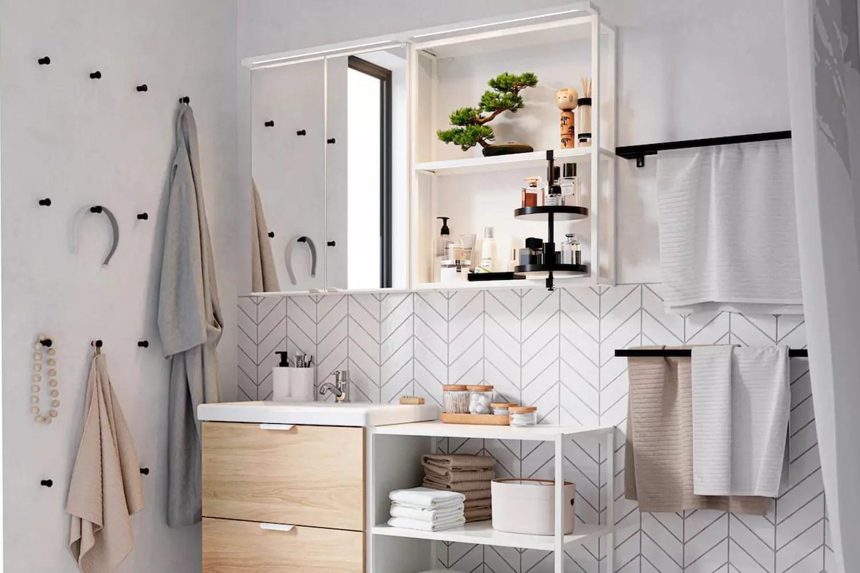 Salle De Bains Ikea En 3d Meuble Godmorgon Et Prix