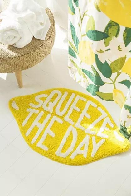 tapis de bain squeeze the day d urban