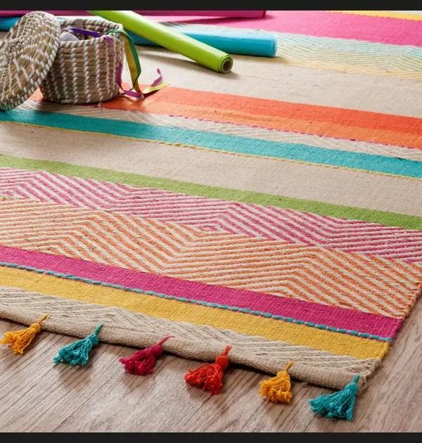 tapis multicolore maisons du monde