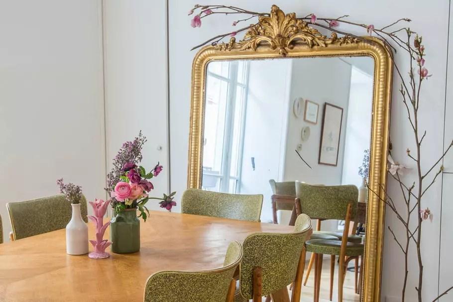 miroir ancien dore ou le chiner comment le nettoyer et le relooker