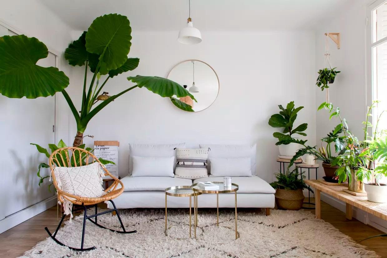 les plus beaux exemples de salon blanc