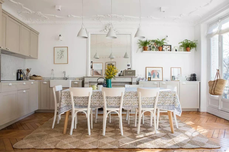 une cuisine salle a manger comme a la campagne