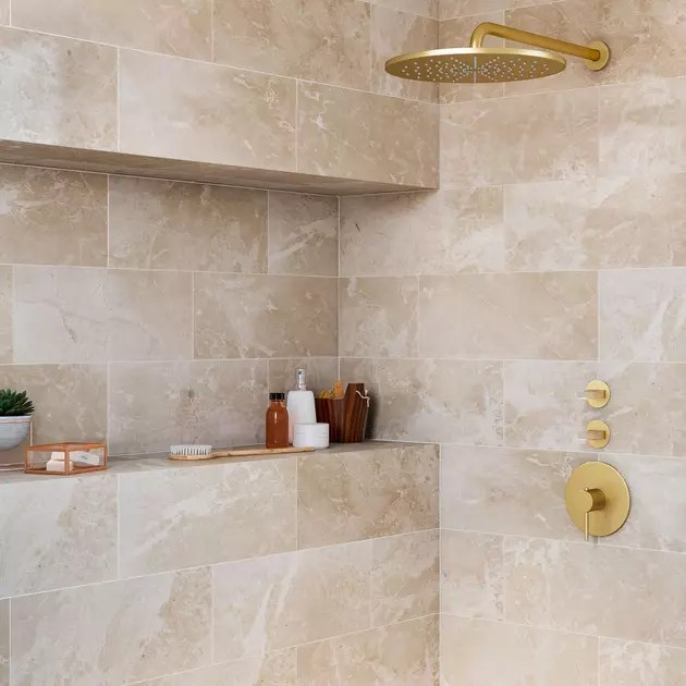 marbre beige par leroy merlin