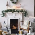 Des Idees De Decoration De Noel Pour La Cheminee