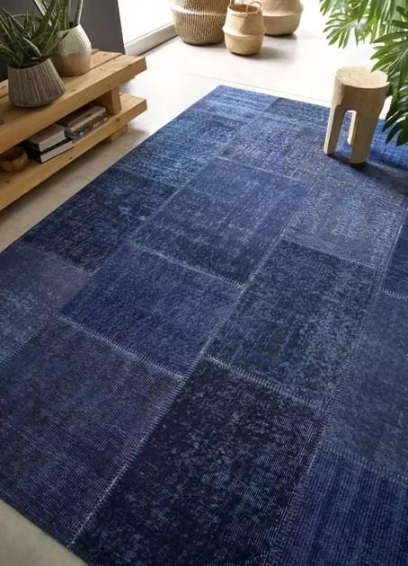 tapis patchwork par saint maclou