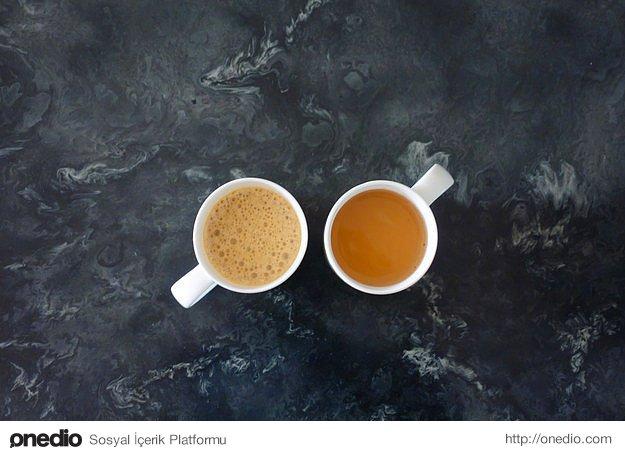 Çayı kahveyi şekerli ya da tatlandırıcılı içiyorsanız azaltmayı hatta tamamen bırakmayı deneyin.