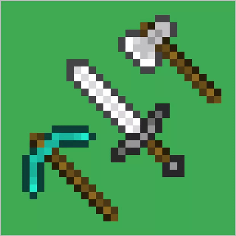 Pixel Art Minecraft Outils