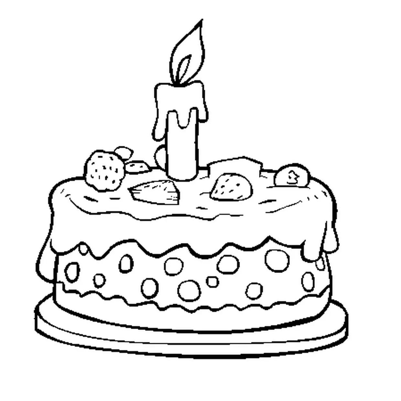 coloriage anniversaire en ligne gratuit