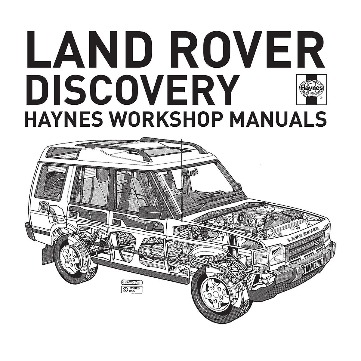 Haynes Workshop Manual Land Rover Discovery Black Kid