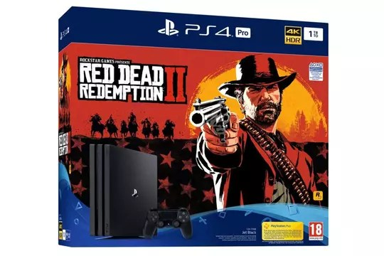 Black Friday PS4: already packaged with Red Dead 2 previously