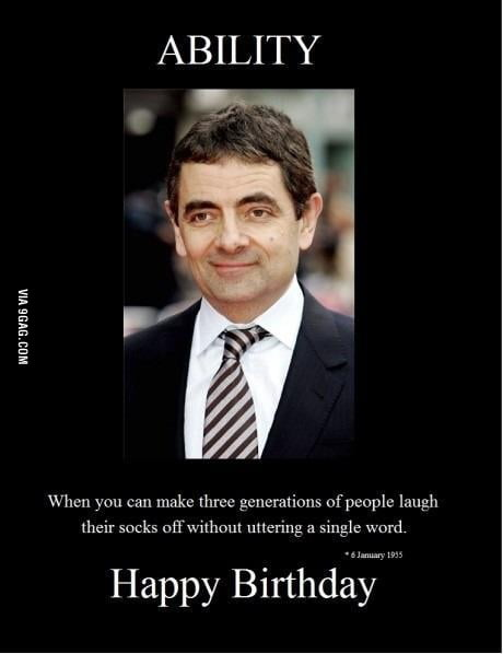 Happy Birthday Mr Bean 9gag