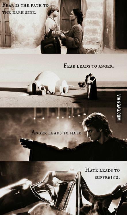 Yoda was right.