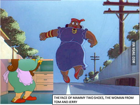 The Face Of The Woman From Tom And Jerry 9gag