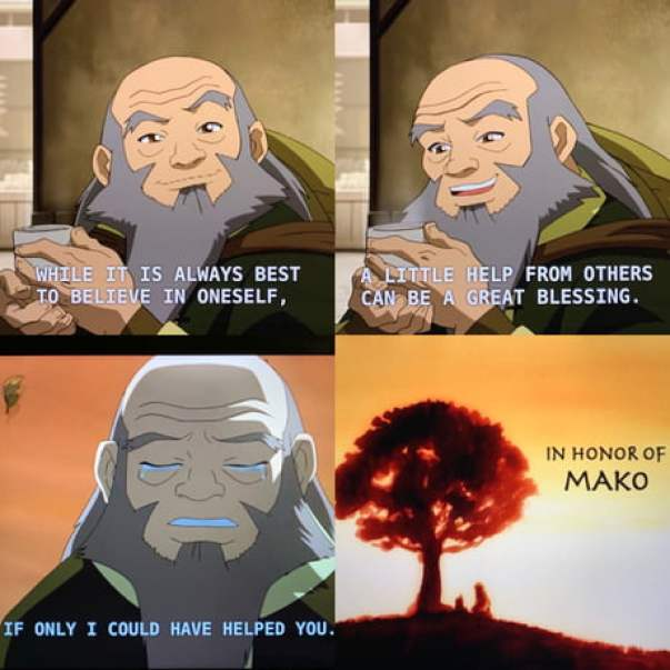 The tale of Iroh