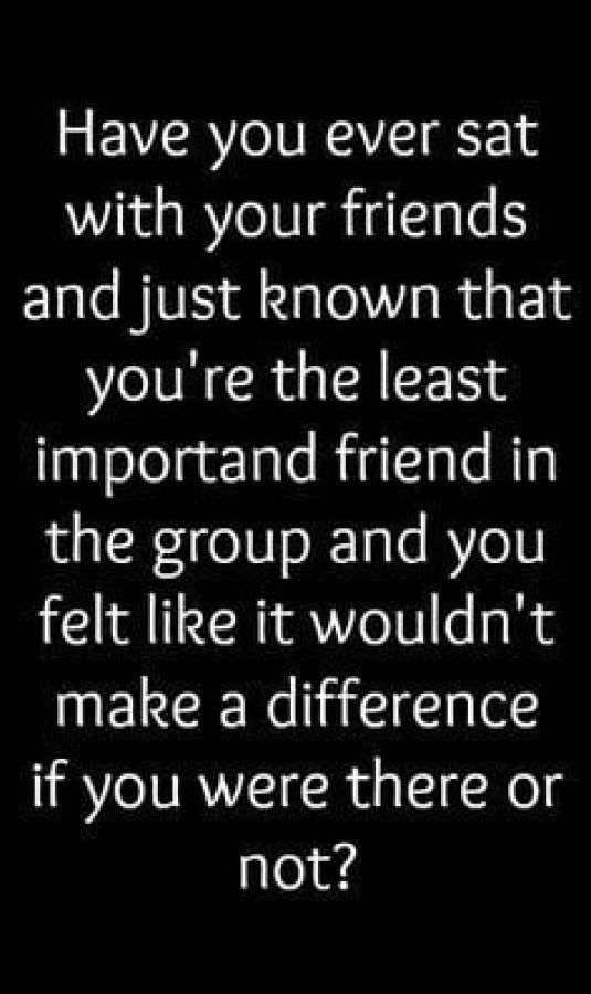 Losing my best friends...............