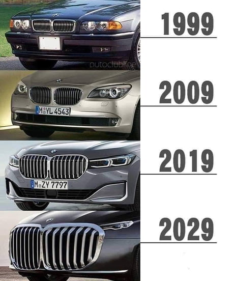 Bmw Kuhlergrill Meme Big M8 2020 03 29