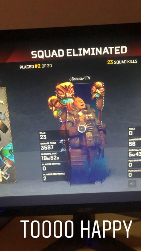 When Gibby Have Sugar Daddy At Respawn Apex Legends Meme