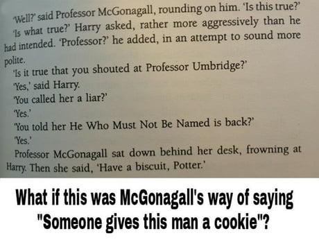 Sneaky McGonagall